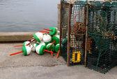 Instrumenten van de lobsterman — Stockfoto