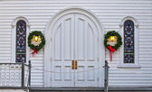 Holiday Doors — Stock Photo