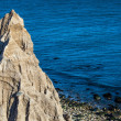 Stock Photo: Eroded Bluff