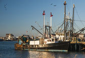 Fishing Vessel Montauk — Stock Photo