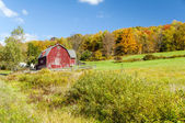 Hillside Barn — Stock Photo