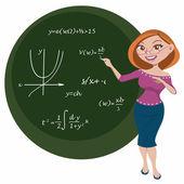 Teacher — Stock Vector
