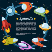 Spacecraft — Stock Vector
