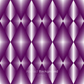 Diamonds on a purple background — Stock Vector