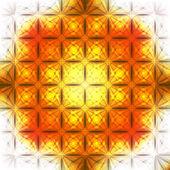 Vetor abstrato círculos laranja fundo — Vetorial Stock