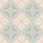 Modello delle mattonelle di triangolo e rombo — Vettoriale Stock