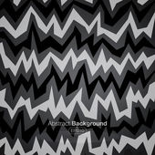 Asymmetric zigzag background 2 — Stock Vector
