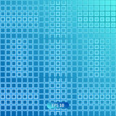 Blue grid background — Stock Vector