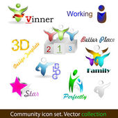 Community pack — Stock Vector