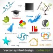 Stock Vector: Vector Color Symbol Design