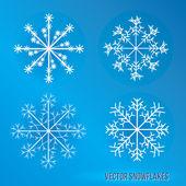 Snowflakes — Stockvektor
