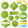 Royalty-Free Stock Vector Image: Eco Green Design