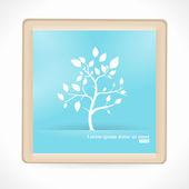 Abstract Tree. Vector Artboard — Stock Vector