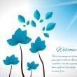 Impossible Flowers — Stock Vector