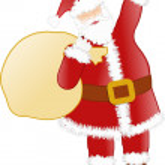 Happy Santa — Stock Photo #10932473