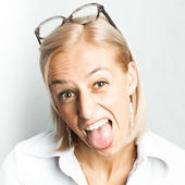 Funny face — Stock Photo