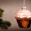 Stock Photo: Christmas sweet bouble