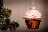 Christmas sweet bouble — Stock Photo