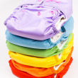 Eco friendly diapers — Stock Photo