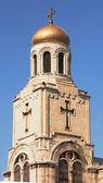 Katedrála v byzantian stylu ve městě varna, bulharsko — Stock fotografie