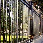 Iron fence — Stock Photo #23623577