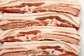 Fresh bacon. — Stock Photo
