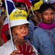 Political Protests In Bangkok, Thailand — Stock Photo #39047085