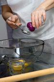 Making dough. Series. — Fotografia Stock