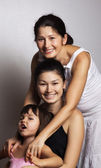 Grandmother, mother and daughter — Stock Photo