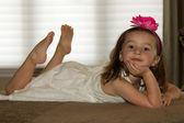 Beautiful, happy child posing — Stock Photo