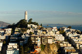 Coit Tower on Telegraph Hill — Stock Photo