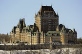 Chateau Frontenac in Quebec City, Canada — Stock Photo