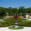 Manicured ornamental garden — Stock Photo