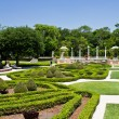 Foto de Stock  : Manicured ornamental garden