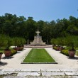 Manicured ornamental garden — Stockfoto
