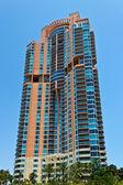 South Beach luxury condominium building in Miami, Florida — 图库照片