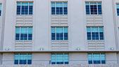 Art deco building facade — Foto de Stock