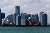 Miami skyline on a sunny day — Foto de Stock