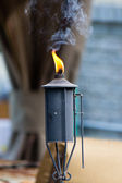 Insect repellant torch — Foto de Stock