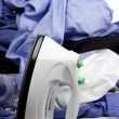 Stock Photo: Ironing