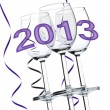 New Year 2013 — Stock Photo #12892041