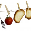 Stock Photo: Hanging food