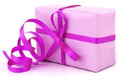 Pink gift — Stock Photo
