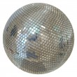 Huge Disco Ball Isolated On White Background — Stock Photo