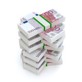 Bundles Of Euro Money (Financial Picture) — Stock Photo