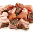 Italian guanciale - Stock Photo