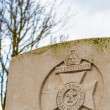 Military cemetery 1st world war flanders — Stock Photo
