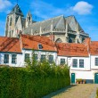 Stock Photo: Beguinage of Kortrijk in flanders