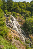 Great waterfall in Todtnau in the black forest in Germany — Stock Photo