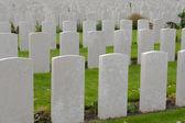 Tyne cot cemetery first world war flanders Belgium — 图库照片